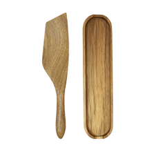 Mad Hungry 2-Piece Acacia Wood Spurtle Set, Natural