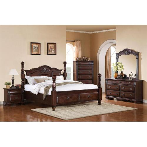 BY333QF Bryant Dark Storage Footboard