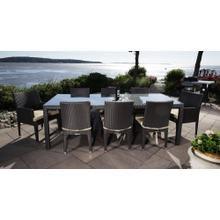 See Details - Cypress Outdoor Dining Set for 8