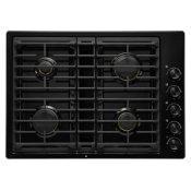"Black 30"" JX3™ Gas Downdraft Cooktop"