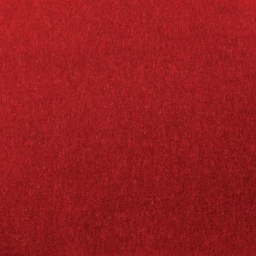 Klismos Acrylic Chair-Red Pepper