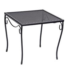 Mesh Top Medium Square End Table
