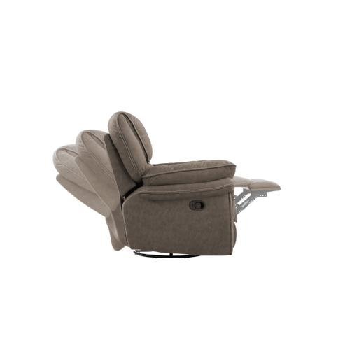 Allyn Swivel Gliding Recliner, Gray Taupe U7127-04-03