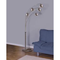 """82""""h 5 Arm Arc Floor Lamp"""