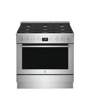 Electrolux36'' Dual-Fuel Freestanding Range