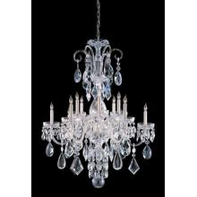 See Details - Traditional Crystal 12 Light Polished Chrome Hand Cut Crystal Chandelier