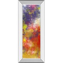 """Vapor I. A"" By Jason Johnson Mirror Framed Print Wall Art"