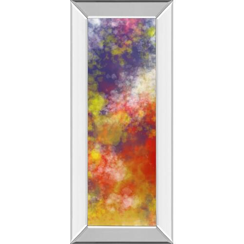 """Vapor I. A"" By Jason Johnson Mirror Framed Print Wall Art"
