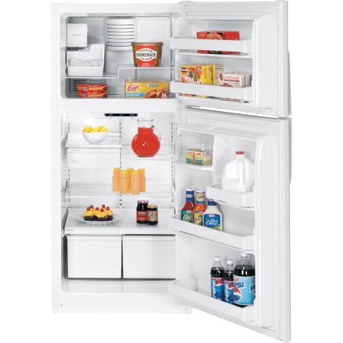 GE® ENERGY STAR® 18.0 Cu. Ft. Top-Freezer Refrigerator