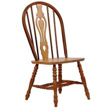 Product Image - Keyhole Dining Chair - Nutmeg with Light Oak Accents (Set of 2)