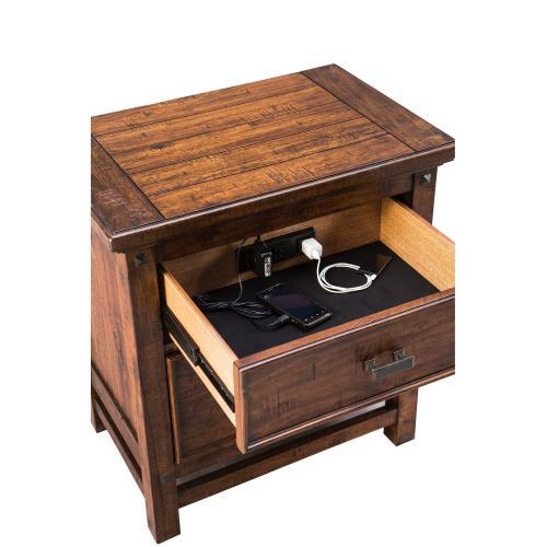 Intercon Furniture - Wolf Creek Two Drawer Nightstand