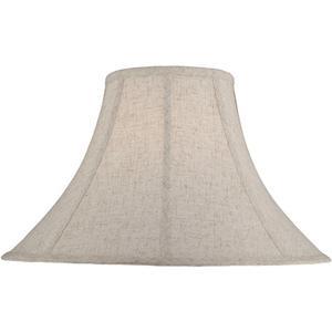 """Cross-weave Linen Shade - 7""""tx18""""bx12""""h"""