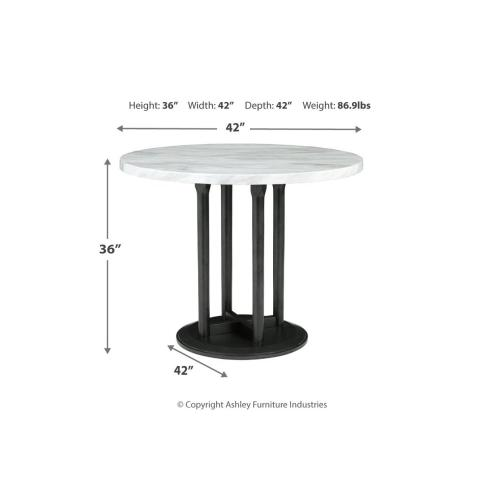 Gallery - Round DRM Counter Table