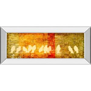 """""""Reunion"""" By Patricia Pinto Mirror Framed Print Wall Art"""
