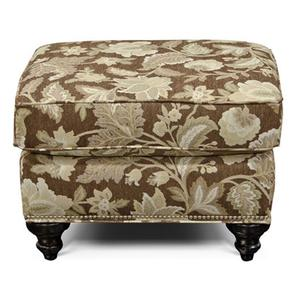 England Furniture5737N Stacy Ottoman with Nails