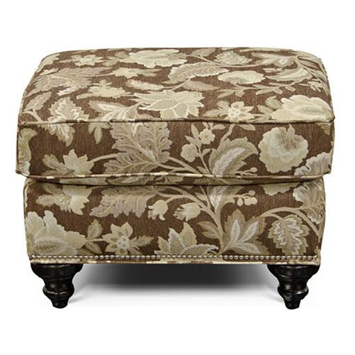 5737N Stacy Ottoman with Nails