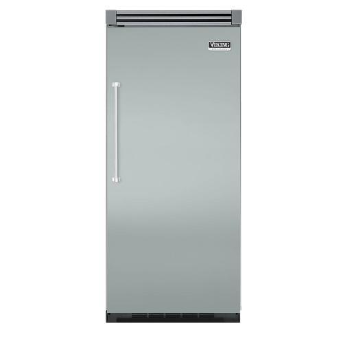 "Viking - Sea Glass 36"" Quiet Cool™ All Refrigerator - VIRB Tru-Flush™ (Right Hinge Door)"