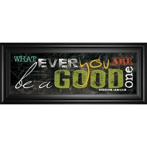 "Classy Art - ""Good One"" By Maria Rae Framed Print Wall Art"