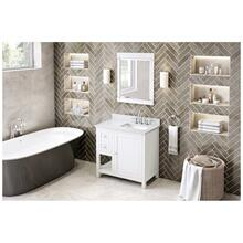 """See Details - 36"""" Astoria Vanity, right offset"""