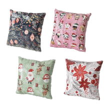 Sequin Holiday Icon Pillows (8 pc. ppk.)