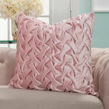 "Life Styles L0064 Blush 22"" X 22"" Throw Pillow"