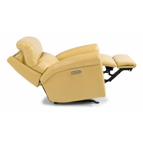 Flexsteel - Davis Power Recliner with Power Headrest