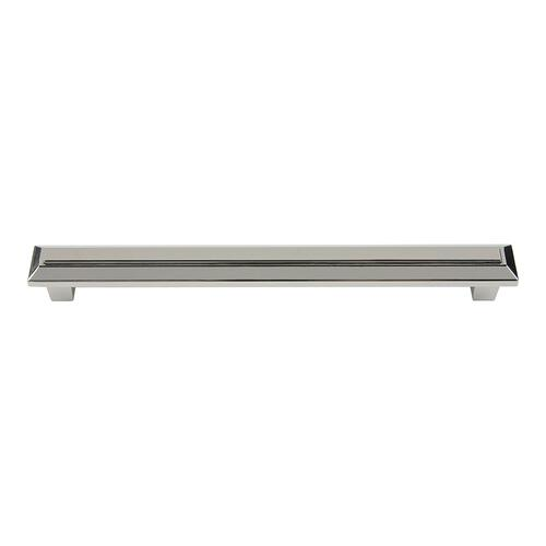 Trocadero Pull 7 1/2 Inch (c-c) - Polished Nickel
