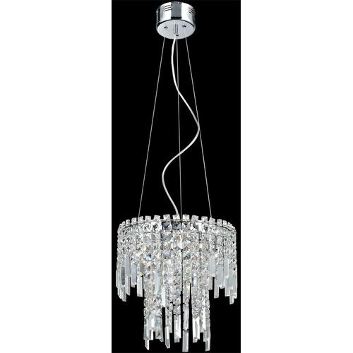Chandeliers, Chrome/crystals, Type Jc/g4 20wx6