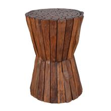 TF-1057 Matchstick Spindle Side Table/Stool