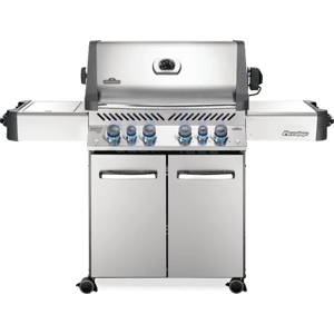 Napoleon BBQPrestige 500 RSIB with Infrared Side and Rear Burners , Stainless Steel , Natural Gas