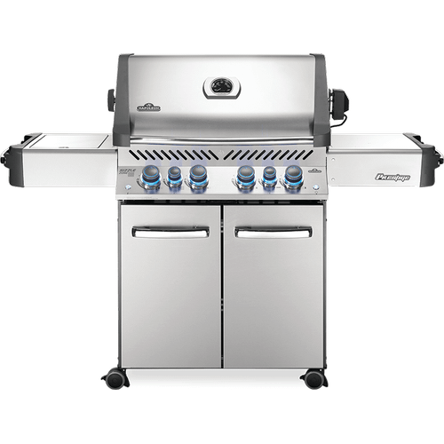Prestige 500 RSIB with Infrared Side and Rear Burners , Stainless Steel , Propane