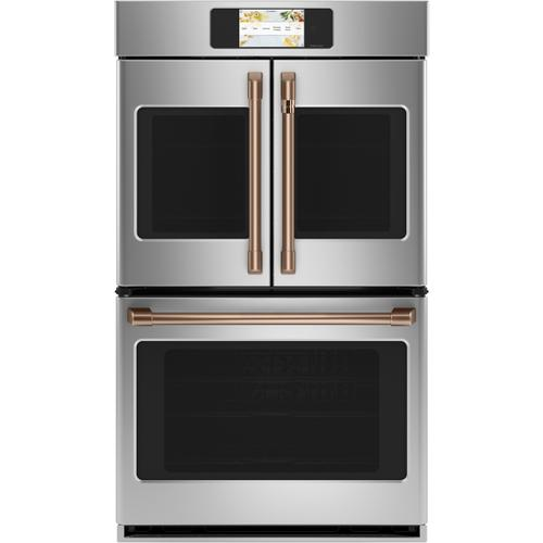 """Cafe - Café™ Professional Series 30"""" Smart Built-In Convection French-Door Double Wall Oven"""