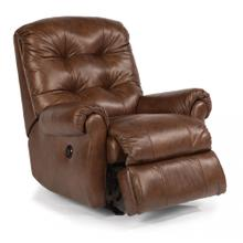 Torrence Leather Power Rocking Recliner