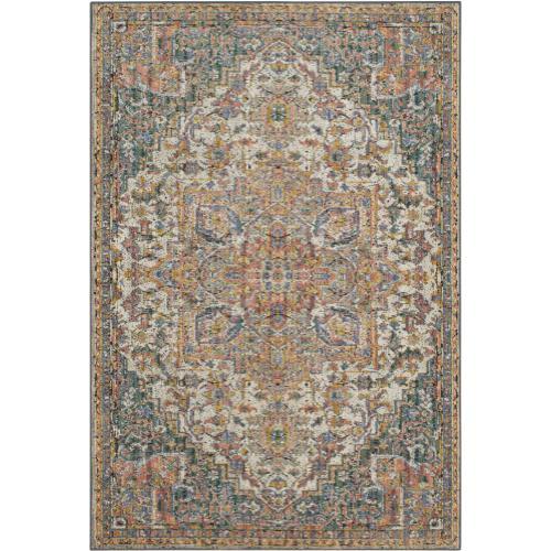 "Mosaic Ravenna Multi 5' 3""x7' 10"""