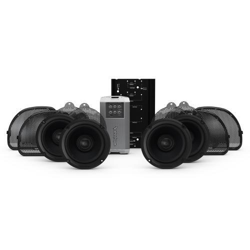 Rockford Fosgate - 2014+ Harley-Davidson® Road Glide® Ultra & Electra Glide® Ultra Classic® 4-Speaker & Amp Kit