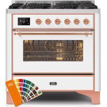 "36"" Inch Custom RAL Color Liquid Propane Freestanding Range"
