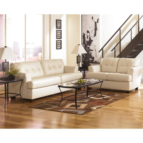 Signature Design by Ashley Roeband Loveseat in Ivory DuraBlend