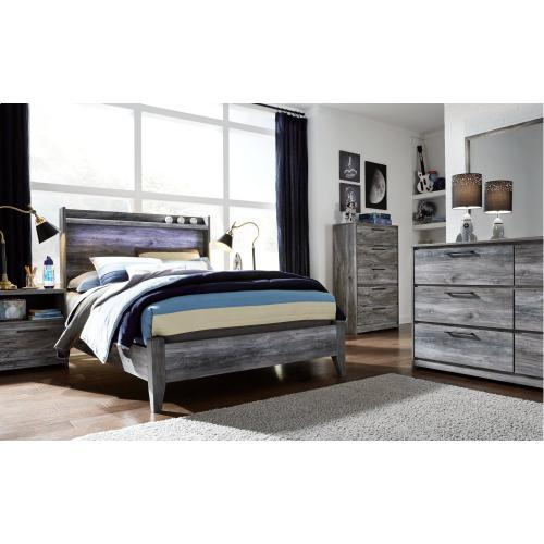 Baystorm Full Panel Bed