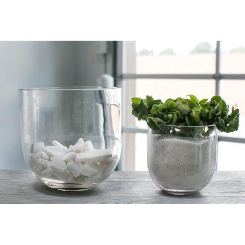 9.5'' Fat Bowl Vase