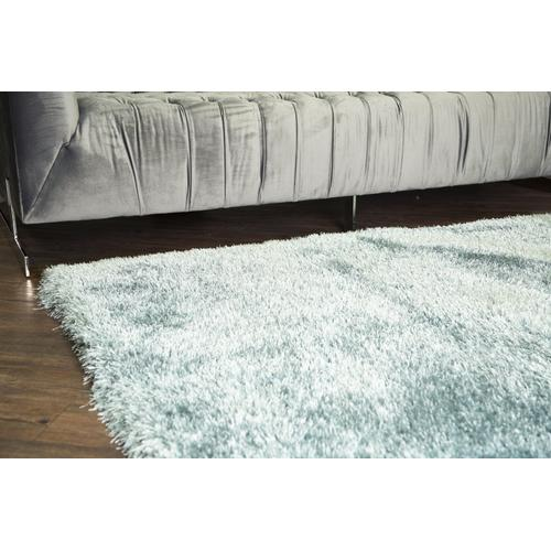 "Shaggy Viscose Solid S.V.S. - Off-white / 7'6"" x 10'3"""
