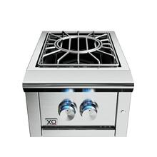 16in Power Side Burner 60,000 BTU NG also avail LP