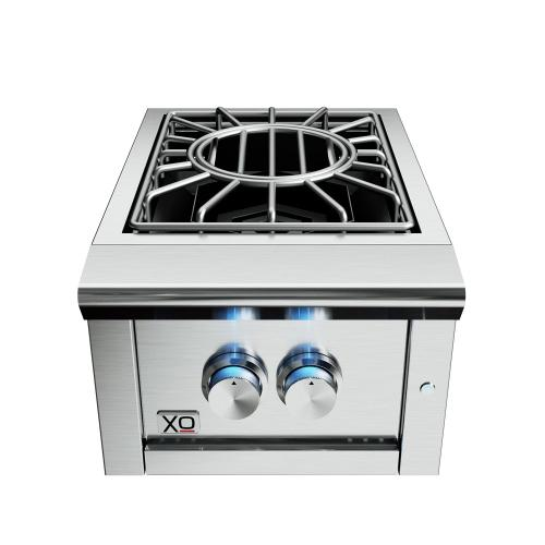 16in Power Side Burner 60,000 BTU LP