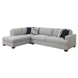Emerald Home Vernon Lsf Chaise W/2 Pillows U4369-29-03