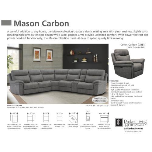 MASON - CARBON 6pc Package A (811LPH, 810, 850, 840, 860, 811RPH)