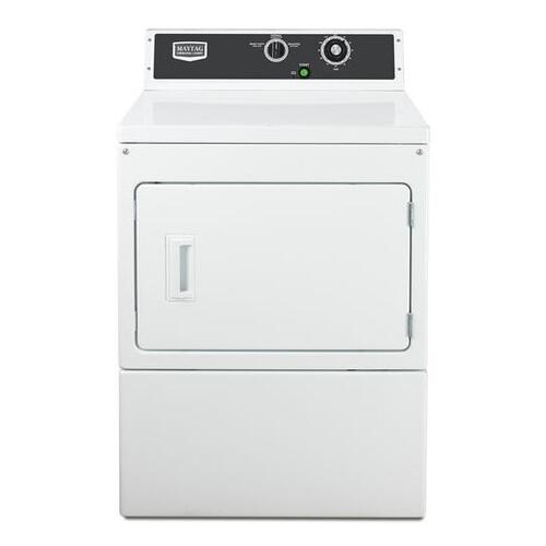 Maytag Commercial - Maytag® Commercial Electric Super-Capacity Dryer, Mechanical Non-Coin - White