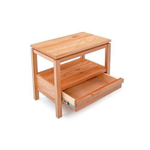 Cranbrook 1 Drawer Nightstand With Shelf