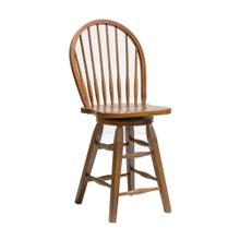 "St. Michael Windsor 24"" Swivel Barstool"