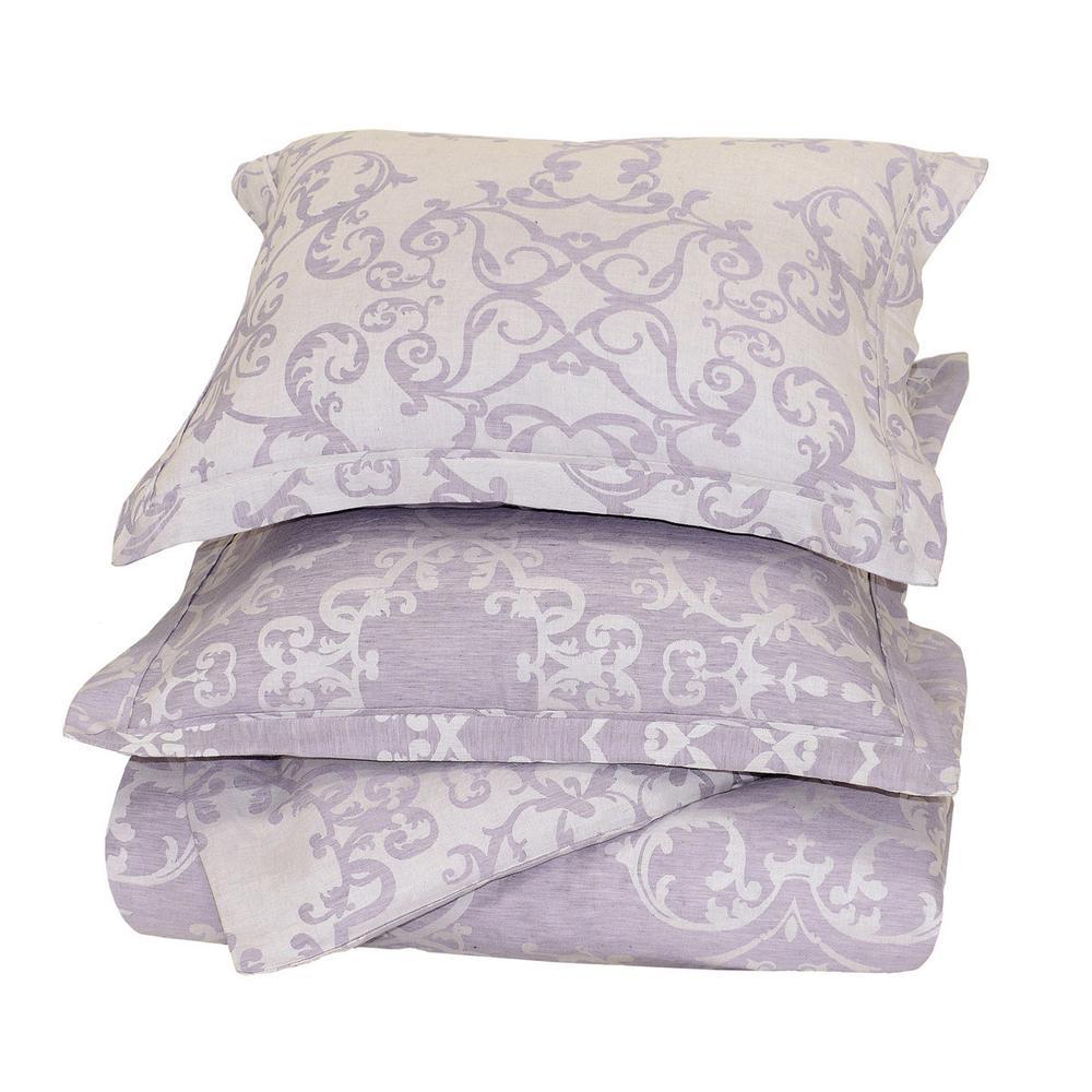 See Details - Lido Jacq Lavender King Duvet 108x94