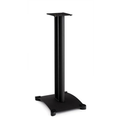 Black Steel Series 30 inches tall for small bookshelf speakers