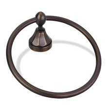 Elements Transitional Towel Ring. Finish: Brushed Oil Rubbed Bronze. Packed in White Box.
